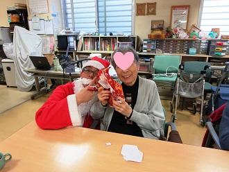 クリスマス サンタと撮影①